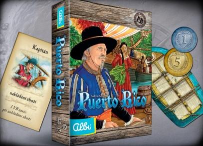 Puerto Rico - nové vydání strategické hry od ALBI