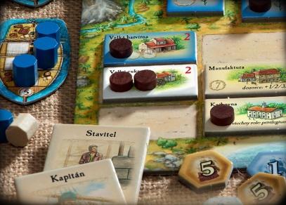 Puerto Rico - detail rozehrané hry