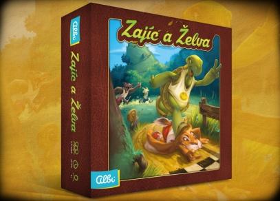 Zajíc a želva - rodinná hra od ALBI
