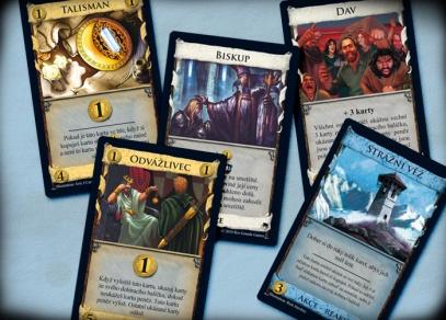 Některé z 25 nových karet království v rozšíření Dominion Prosperita