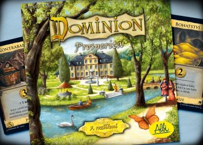 Dominion Prosperita je dalším z rozšíření hry Dominion a není samostatně hratelné