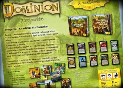 300 nových karet, kovové žetony, podložky pro hráče - to vše v rozšíření Dominion Prosperita