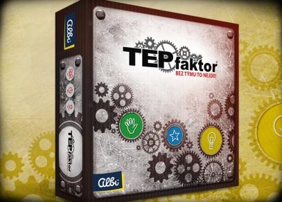 TEPfaktor - týmová párty hra na motivy populární teambuildingové aktivity
