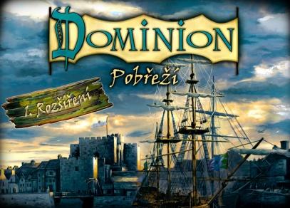 První rozšíření hry Dominion - Pobřeží- přináší nový typ dlouhodobých karet, herní podložky a žetony mincí