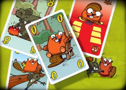 Bobří banda - karetní hra, co pořádně procvičí paměť