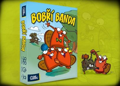 Bobří banda - reedice populární karetní hry od ALBI
