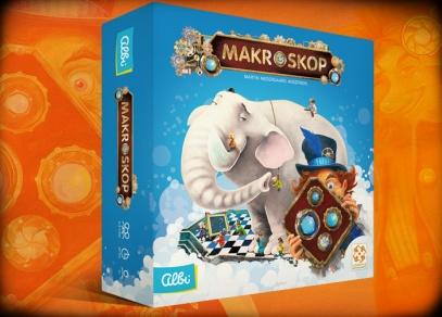 Makroskop - rodinná hra s unikátním herním mechanismem