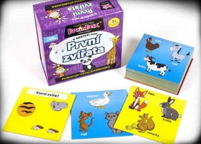 Hra V kostce! mini je v praktické pevné krabičce s magnetickým zavíráním