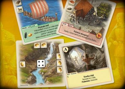 Catan Duel - hra obsahuje 180 karet