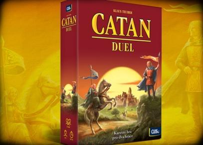 Catan Duel - karetní hra z ostrova Katan pro dva hráče