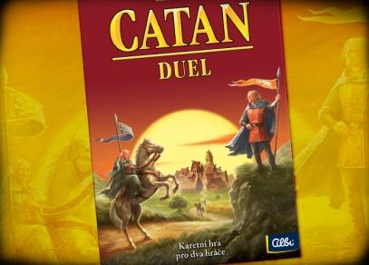 Catan Duel je samostatná hra pouze pro 2 hráče...
