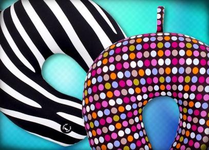 Vybírejte ze šesti designů na masážních podhlavnících od ALBI