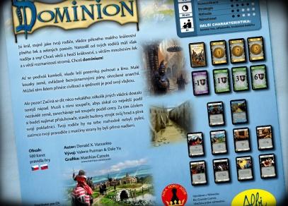 Dominion - svět napínavých dobrodružsví...
