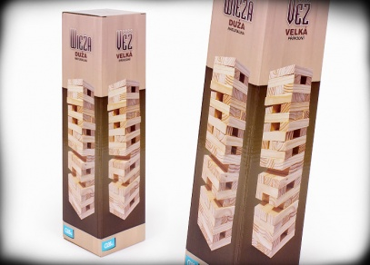 Velká přírodní věž - klasická hra od Albi