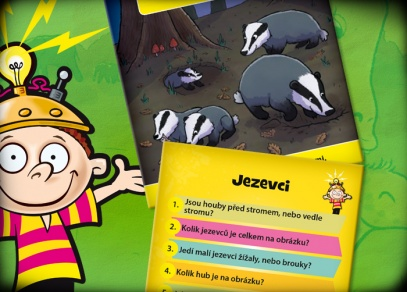 V KOSTCE! ZVÍŘECÍ RODINY - hra z populární edice od Albi