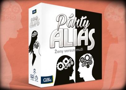 PÁRTY ALIAS ŽENY VERSUS MUŽI - párty hra od Albi