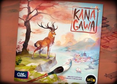 Kanagawa - netradiční rodinná hra o orientální malbě od Albi