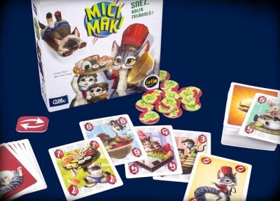Mici Maki - rodinná hra od Albi