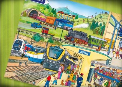 Doprava - kniha z edice Kouzelné čtení