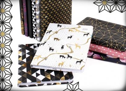 Jedenáct originálních designů na týdenních diářích od ALBI