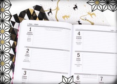 Týdenní plánování v diářích ALBI