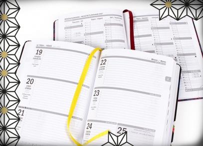 V diářích naleznete spousta prostoru nejen pro týdenní plánování