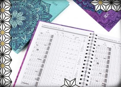 V diářích najdete nejen plánovací kalendář