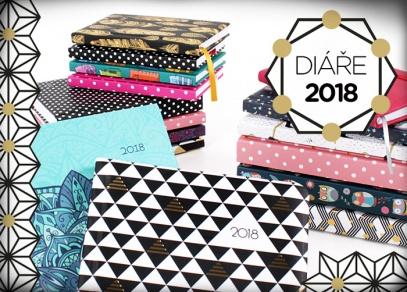 Diáře od ALBI pro stylové plánování roku 2018