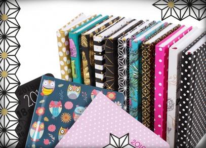 Mnoho nových designů na kapesních diářích v kolekci 2018