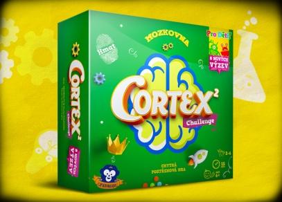 Cortex 2 pro děti - skvělá logická hra od Albi