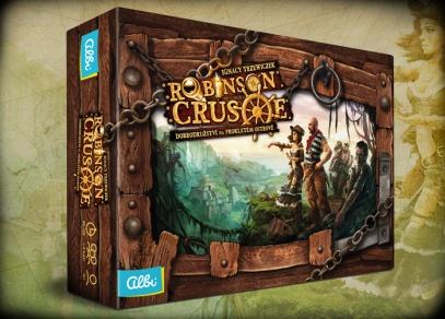 Kooperativní strategická hra Robinson Crusoe: Dobrodružství na prokletém ostrově