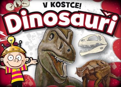 Procvičte si paměť a poznávejte dinosaury s hrou V kostce! Dinosauři