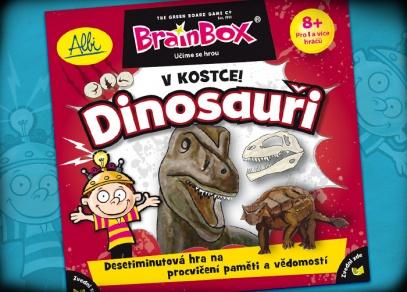 Měl Triceratops na ocasu roh? Co znamená Stegosarus - vzdělávací hra V kostce! Dinosauři