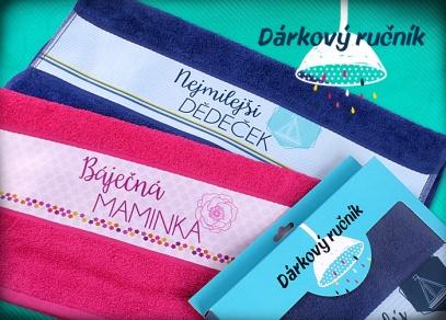 Dárkové ručníky s textem od ALBI