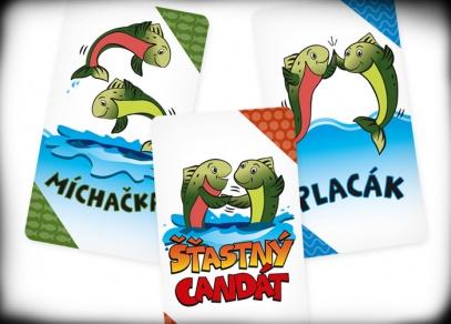 Šťastný candát - karetní hra od Albi