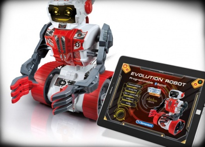 Evolution robot - experimentální sada od Albi
