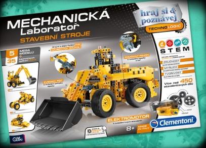 Mechanická laboratoř - stavební stroje - experimentální sada od Albi
