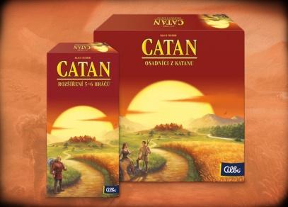 Catan Big Box - velké balení Osadníků od Albi