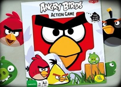 Zábavná hra na ven i dovnitř pro celou rodinu - Angry Birds!