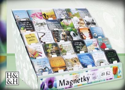 Nepřeberné množství designů na magnetkách od ALBI