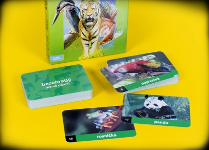 Mysli a spojuj! Zvířata - populární karetní hra od Albi